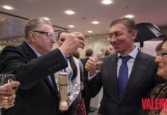 «За наше, родное!» - В.В.Жириновский и Заур Балагов, Президент Холдинга «Даймонд».