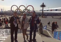 Мы и VALENKI в Олимпийском парке (Президент Холдинга «Даймонд» Заур Балагов)