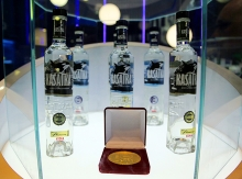KASATKA vodka has received the Gold Medal at the Tasting Contest, Prodexpo 2014!