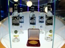 Водка KASATKA получила Золотую медаль Дегустационного конкурса Продэкспо-2014!
