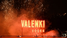 "The brand ""VALENKI"" has lightened stars on its first birthday!"