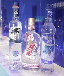 Vodka wholesale of Diamond Holding own brands