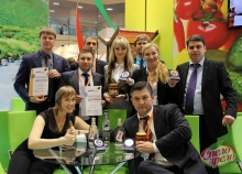 """""""SPELO-ZRELO"""" - """"Product of the Year 2014"""" at the exhibition """"World Food Moscow 2014"""""""