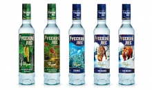 """""""RUSSKIY LES"""" (RUSSIAN FOREST) vodka is now available in the Finnish network """"K-ruoka"""""""