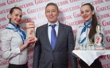 Президент Холдинга «Даймонд» Заур Балагов тепло поздравил ИД «Собеседник» с юбилеем