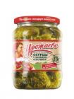 Огурцы с зеленью в заливке Урожаево 720мл