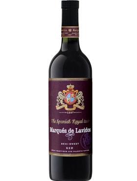 Вино столовое красное полусладкое «Marqués de Lavidos»