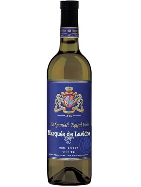 Wine white semi-sweet «Marqués de Lavidos»