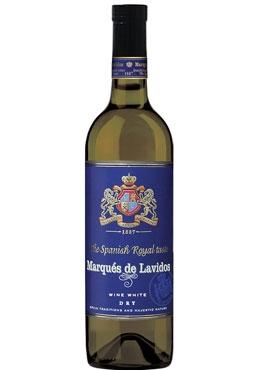Столовое вино белое сухое «Marqués de Lavidos»