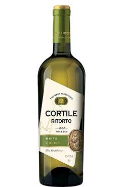 Вино CORTILE RITORTO белое полусухое