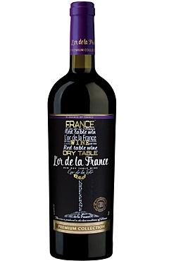 Red Dry wine «L'or de la France»
