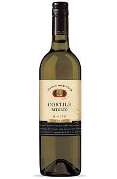 Semi-Dry White Cortile Ritorto wine
