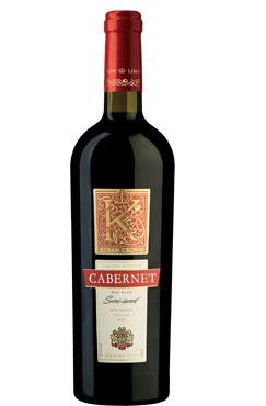 «КАБЕРНЕ» (ЗГУ)- вино столовое полусладкое красное из серии «Kuban Crown» от российского производителя Холдинга «Даймонд».