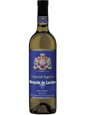 Вино столовое белое полусладкое «Marqués de Lavidos»