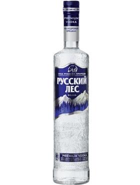 Водка Русский Лес (на кедровых орешках) Premium