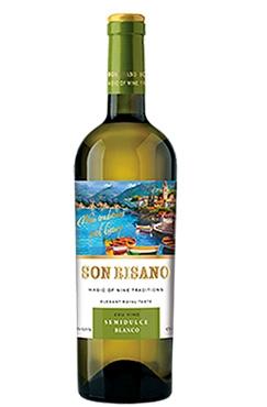 Белое полусладкое вино Sonrisano