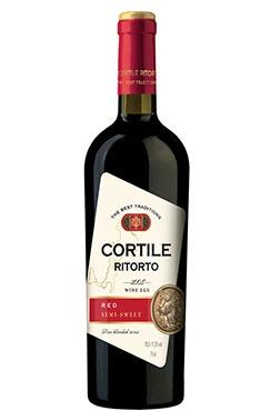 Красное полусладкое вино Red Semi-Sweet Cortile Ritorto