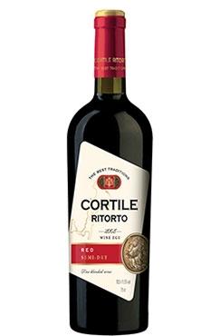 Вино Red Semi-Dry Cortile Ritorto