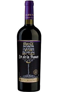 Red Dry wine «L'or de la France»