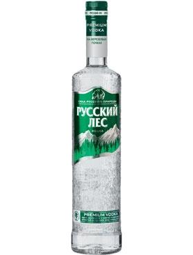 Водка Русский лес (на березовых почках) Premium