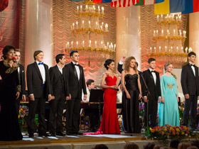 Stars of Romansiada at the Kremlin with Diamond Holding, VALENKI and SPELO-ZRELO